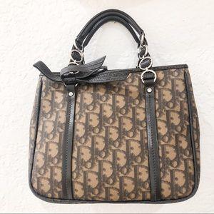 Christian Dior Mini Tote Bag - Dark Brown